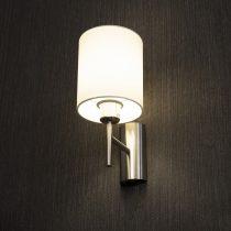 Eglo 94924 Pasteri fehér textil fali lámpa 1xE27 foglalattal