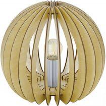 EGLO 94953 asztali lámpa 1xE27 max. 60W átm:26cm juhar Cossano