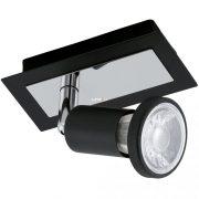 EGLO 94963 LED-es fali lámpa GU10 1x5W fekete/króm Sarria