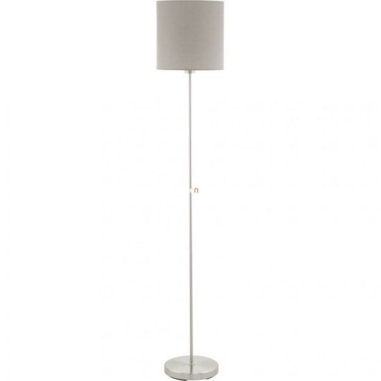 Eglo 95167 Pasteri tóp szürke textil állólámpa 1xE27 foglalattal