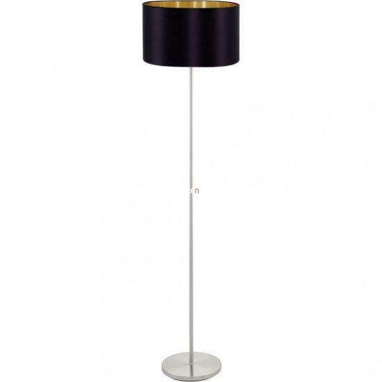 EGLO 95169 Textil Állólámpa 1xE27 max. 60W fekete/arany Maserlo