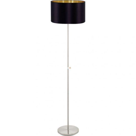Eglo 95169 Maserlo fekete-arany textil állólámpa 1xE27 foglalattal