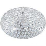EGLO 95284 mennyezeti lámpa 2xE27 max. 60W króm/kristály Clemente