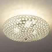 EGLO 95285 mennyezeti lámpa 3xE27 max. 60W króm/kristály Clemente