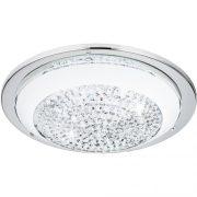 Eglo 95639 mennyezeti LED lámpa 8,2W 29cm króm/fehér Acolla