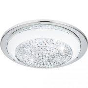 Eglo 95639 Acolla mennyezeti LED lámpa 8,2W 29cm króm/fehér