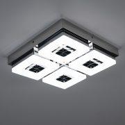 Eglo 95657 mennyezeti LED lámpa 4x4W króm Fradelo
