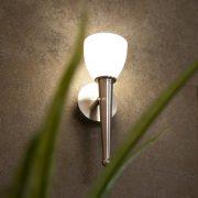 EGLO 95748 Mara 2 LED-es fali lámpa G9 1x2,5W matt nikkel/fehér