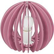 EGLO 95954 asztali lámpa 1xE27 max. 42W rózsaszín Fabella