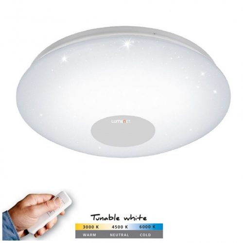 Eglo 95972 Voltago 2 mennyezeti LED lámpa 20W 2700-5000K 2200lm, 375mm, távvezérlővel