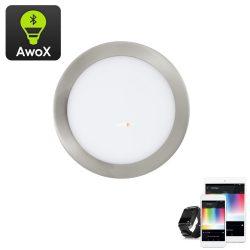 Eglo 96676 Fueva-C RGB süllyesztett LED-panel nikkel IP20 225mm