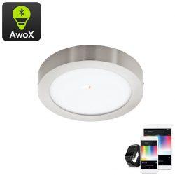 Eglo 96677 Fueva-C RGB mennyezeti LED panel nikkel IP20 225mm