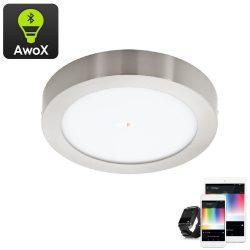 Eglo 96678 Fueva-C RGB mennyezeti LED panel nikkel IP20 300mm