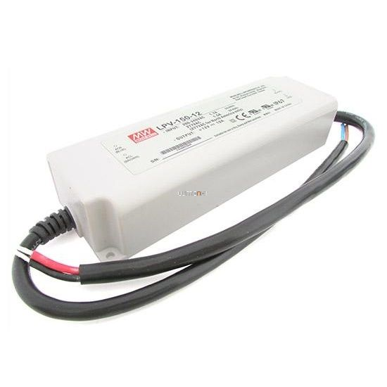 MEAN WELL LPV-150-24 150W IP67 Vin: 90-264V AC, Vout: 24V DC