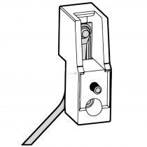 Stucchi RX7s foglalat, LEcsavarozható 203-21
