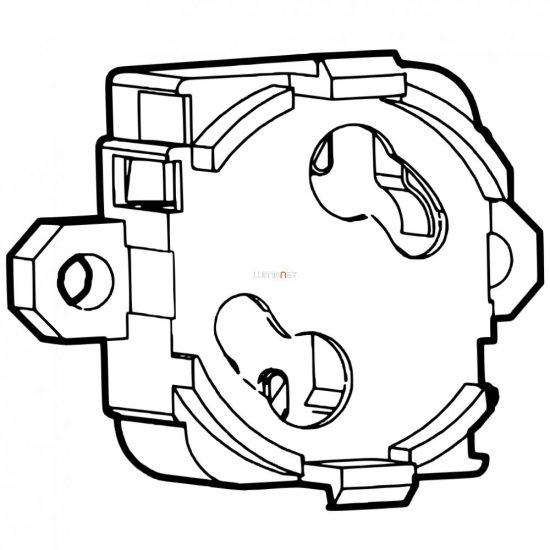 Stucchi gyújtó foglalat, csavarozható 16/V