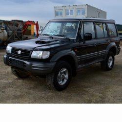 Autó izzók halogén izzóval szerelt Hyundai Galloper (1998-2003)-hez