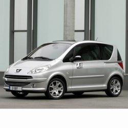 Autó izzók halogén izzóval szerelt Peugeot 1007 (2004-2009)-hez