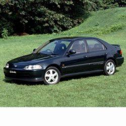 Autó izzók halogén izzóval szerelt Honda Civic Sedan (1991-1995)-hez