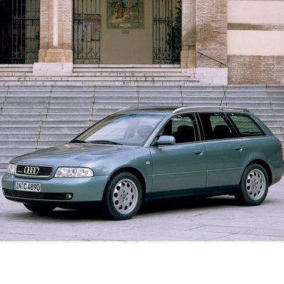 Autó izzók két halogén izzóval szerelt Audi A4 Avant (1999-2001)-hoz
