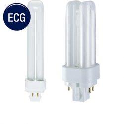 4pin-2U TC-DE Compact Fluorescent Lamps  (G24q)