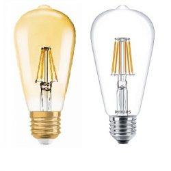 Edison izzó ST64 LED