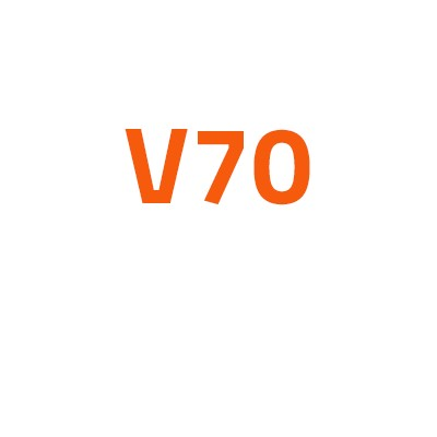 Volvo V70 autó izzó