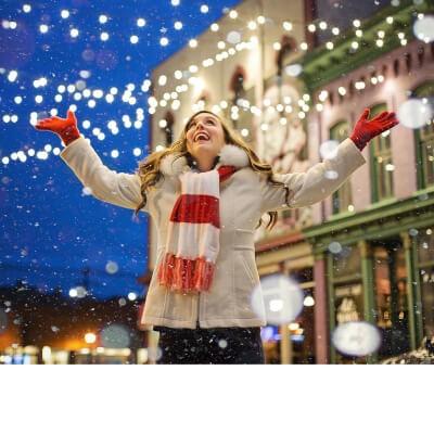 Kültéri karácsonyi világítás