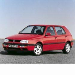 Autó izzók két halogén izzóval szerelt Volkswagen Golf III (1991-1998)-hoz
