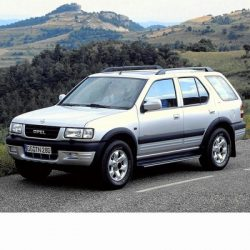 For Opel Frontera (1998-2004) with Halogen Lamps