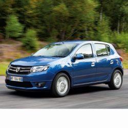 Autó izzók a 2012 utáni két halogén izzóval szerelt Dacia Sandero-hoz