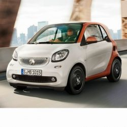 Smart Fortwo (2014-) autó izzó