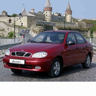 Autó izzók halogén izzóval szerelt Daewoo Lanos (1997-2002)-hoz