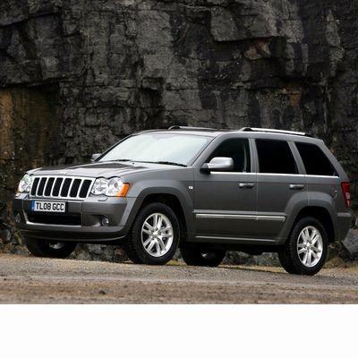 Autó izzók xenon izzóval szerelt Jeep Grand Cherokee (2005-2010)-hoz