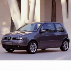 Autó izzók két halogén izzóval szerelt Seat Arosa (1997-2004)-hoz