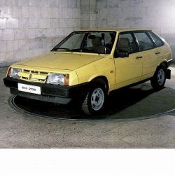 For Lada Samara (1984-2003) with Halogen Lamps