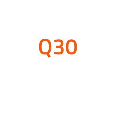 Infiniti Q30 autó izzó