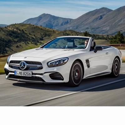 Autó izzók LED-es fényszóróval szerelt Mercedes SL (2016-2020)-hez