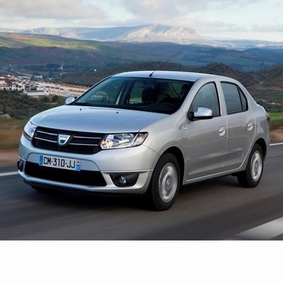 Autó izzók két halogén izzóval szerelt Dacia Logan (2012-2016)-hoz