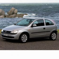 For Opel Corsa C (2000-2006) with Valeo-type low beam Halogen lamp