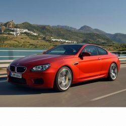 Autó izzók a 2012 utáni ledes fényszóróval szerelt BMW M6 (F12)-hoz