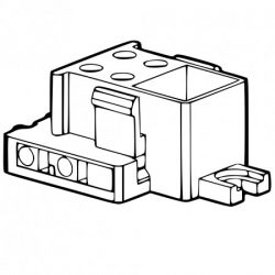 GR10q Square-shaped Fluorescent Lamp Holders