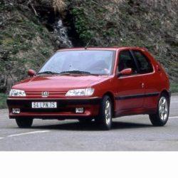Autó izzók két halogén izzóval szerelt Peugeot 306 (1993-1997)-hoz
