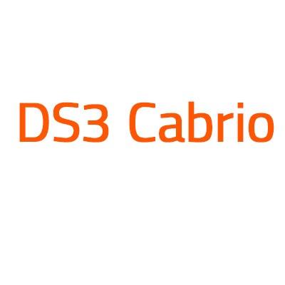 Citroen DS3 Cabrio autó izzó