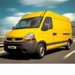 Autó izzók két halogén izzóval szerelt Renault Master (1998-2010)-hez
