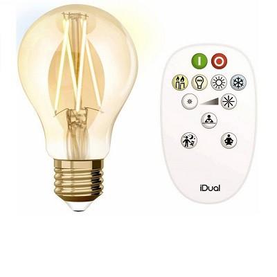 távirányítós E27 LED