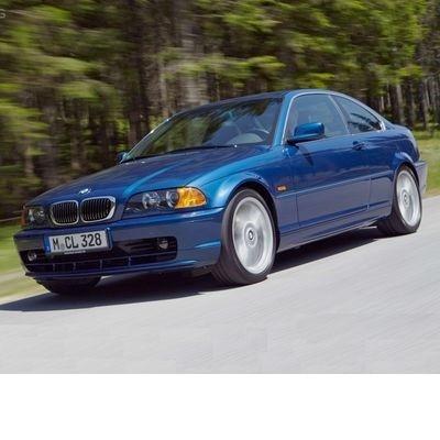 Autó izzók halogén izzóval szerelt BMW 3 Coupe (2000-2001)-hoz