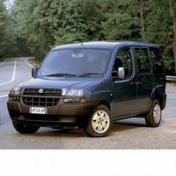 For Fiat Doblo (2000-2010) with Halogen Lamps