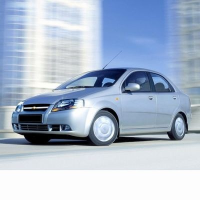 Autó izzók halogén izzóval szerelt Chevrolet Kalos Sedan (2005-2008)-hoz