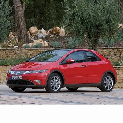 Autó izzók xenon izzóval szerelt Honda Civic (2005-2012)-hez